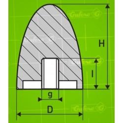 Silentblok FF - D95 - H80 - M16