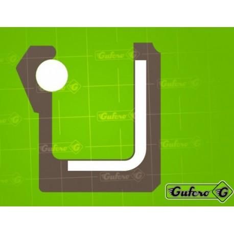 Gufero FKM G - 12 x 28 x 7