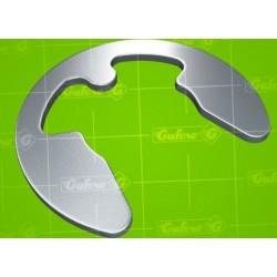Pojistný třmenový kroužek NEREZ DIN 6799 SS420 - 1,5 x 0,40