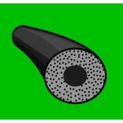 Mikroporézní šňůra - kulatá - odlehčená - 40,0