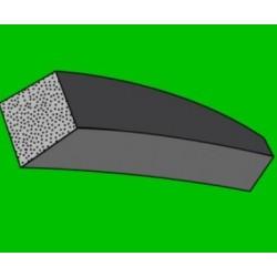 Mikroporézní šňůra - čtvercová - 4,0 x 4,0