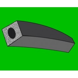 Mikroporézní šňůra - čtvercová - odlehčená - 14x14