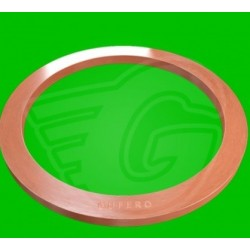 Plochý těsnící kroužek CU - 6 x 10 x 1
