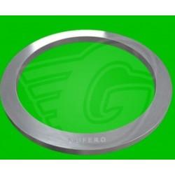 Plochý těsnící kroužek AL - 6,5 x 17 x 2