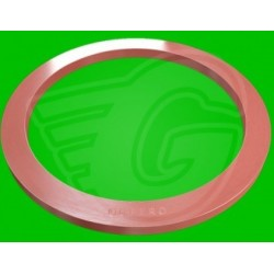 Plochý těsnící kroužek fíbr - 16 x 20 x 1