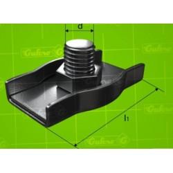 Lanová svorka SIMPLEX - pozink - 2 mm