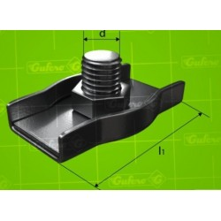 Lanová svorka SIMPLEX - pozink - 3 mm