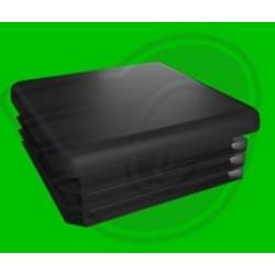 Záslepka čtvercová černá - 50x50x2,5-5